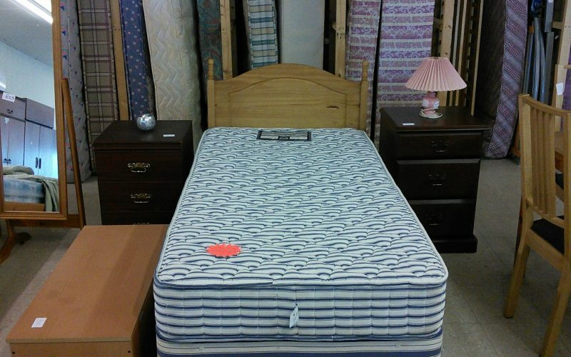 We sell beds contact Waste Not Want Not for more information