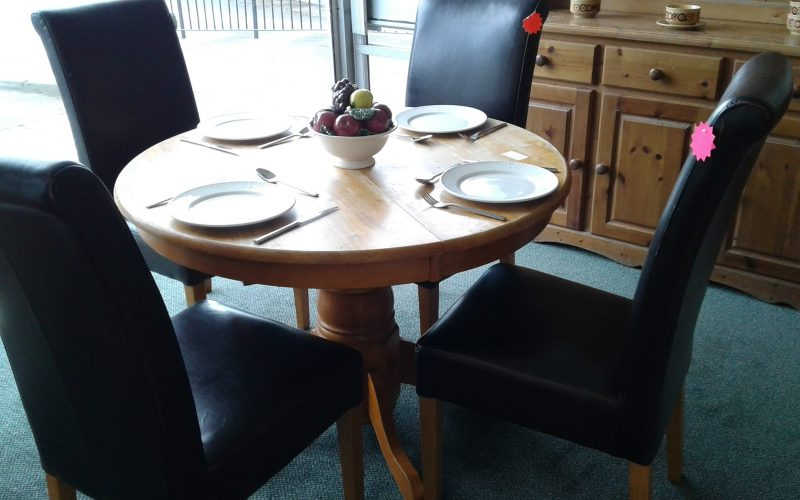 We sell dining tables contact Waste Not Want Not for more information
